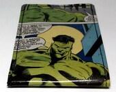 Sewn Duct Tape Comic Book Wallet - The Incredible Hulk Design 4