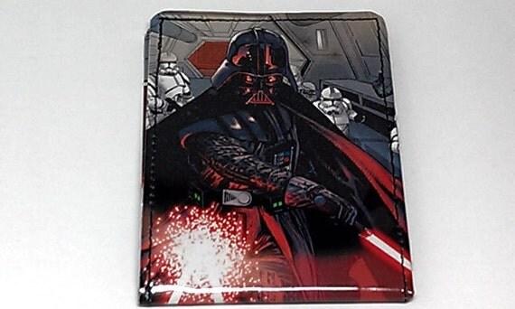 Sewn Duct Tape Comic Book Wallet - Darth Vader Design 2