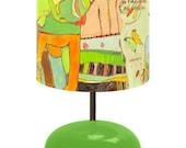 Animal Kingdom Lamp by Jennifer Mercede