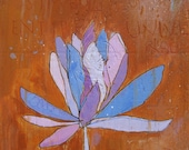 Lotus Purple Canvas Print by Jennifer Mercede 24X24