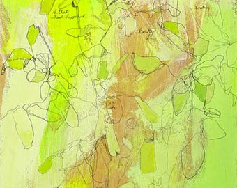 Tre Gre Canvas Print by Jennifer Mercede 36X12