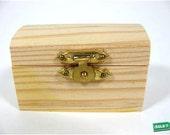 144 unfinished wood trinket boxes
