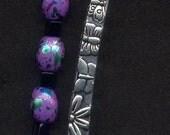 Purple Daisy Bookmark
