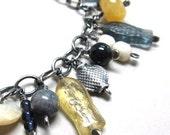 Fish bracelet blue bracelet gold bracelet, Riverdance