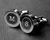 Personalized Typewriter Key Cufflinks - You Pick Letters - Custom Gift for Your Husband - Father's Day - Groomsmen - Wedding