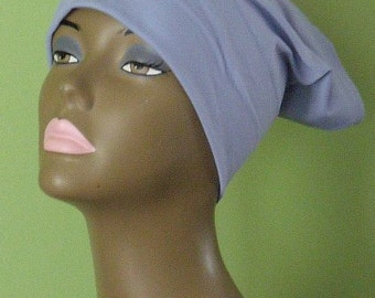 Tube Style Underscarf - Light Blue Hijab