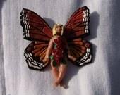 Rosebud - Flower Fairies Brooch