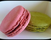 Delicious French Macaroons - Photo Greeting Card