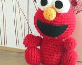 Free Crochet Pattern For Elmo Beanie : Getfun Crochet Shop by getfun on Etsy