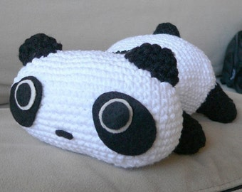 Amigurumi Panda Bear Animal Doll Crochet Pattern Mother day Gift