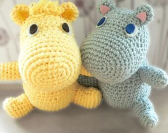 Amigurumi Moomin muumi mumin valley crochet pattern