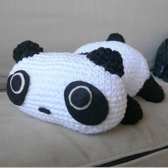 Amigurumi Panda Bear Animal Doll Crochet Pattern Free by getfun