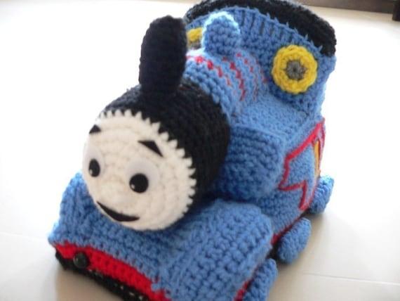 Amigurumi Thomas Friend Train Engine Crochet Pattern Christmas