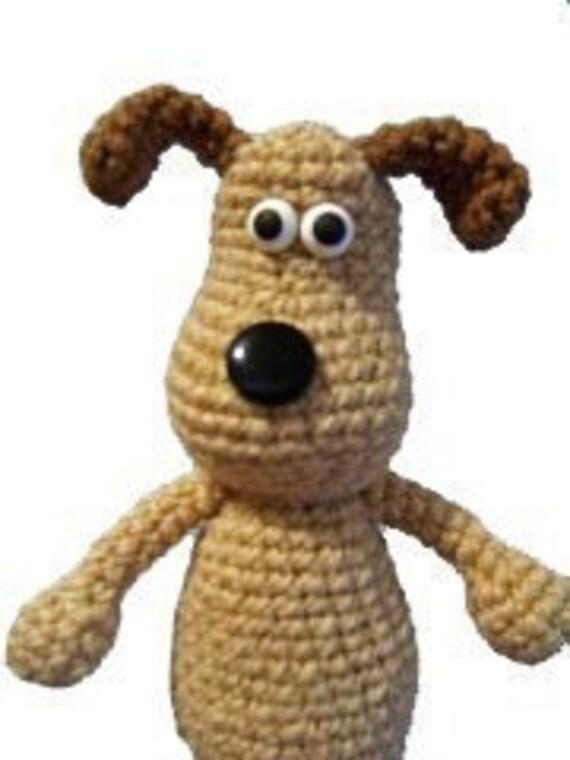 Christmas crafts Amigurumi Animal Gromit Dog Puppy Crochet English Pattern