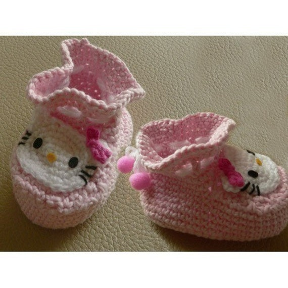 Hello Kitty Infant Infants baby Socks Shoes booties by getfun