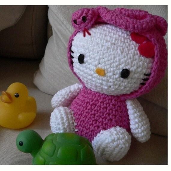 Crochet Pattern Minnie Mouse Doll : Amigurumi Snake animal baby Hello Kitty Doll Crochet Pattern