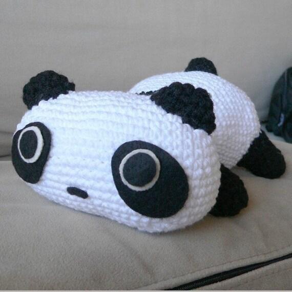 Amigurumi Crochet Panda : Amigurumi Panda Bear Animal Doll Crochet Pattern Free Shipping