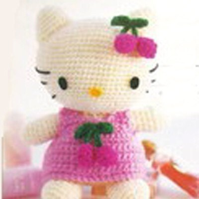Amigurumi Sanrio Cherry Hello Kitty English Crochet Pattern