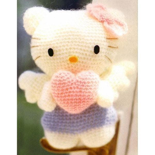 Amigurumi Sanrio Little Angel Heart Hello Kitty English