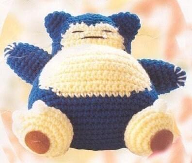 Pok'emon Pikachu Doll Crochet Pattern - Free Crochet
