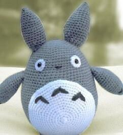 Amigurumi Totoro Cat Crochet Pattern Christmas by getfun ...