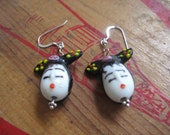 Geisha earrings...