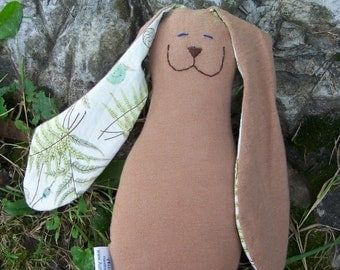 Personalized Natural Fibers Snuggle Bunny with your child's name