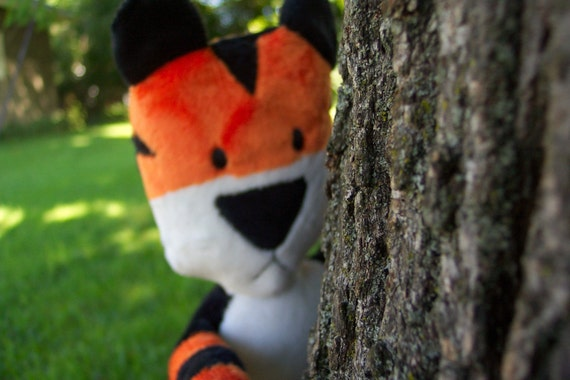 RESERVED for loganberry15 - Hobbes Tiger doll version