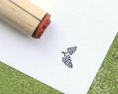 Double Pinecone  Rubber Stamp