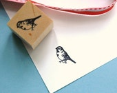 Finch  Rubber Stamp