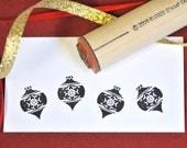 Snowflake Ornament  Rubber Stamp