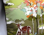 Painted Forest Pillow
