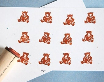 Big Bear Rubber Stamp