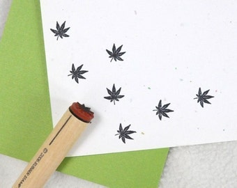 Japanese Maple Rubber Stamp