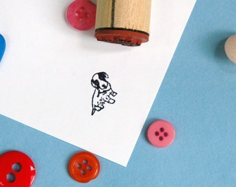 Sweet Puppy Rubber Stamp