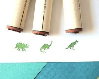 Dinosaurs Rubber Stamp Set