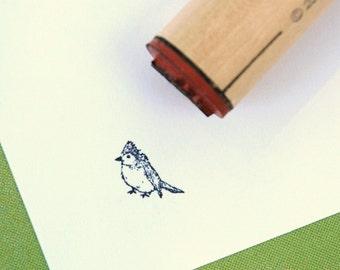 Pretty Bird Rubber Stamp