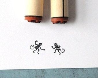 Mischievous Monkeys Stamp Set