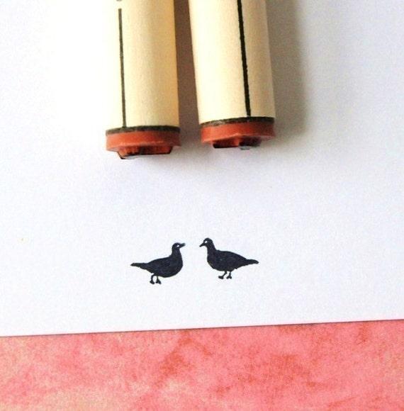 Love Birds Rubber Stamp Set