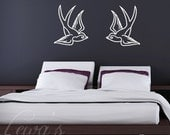 Swallows Wall Decal Sticker