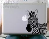 Zebra Laptop / Macbook / Notebook Computer Decal