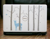 Woodland Forest Laptop Computer Decal