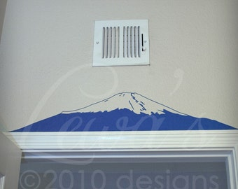 Mount Fuji Wall Decal