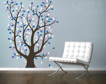 Leafy Tree Large Wall Decal