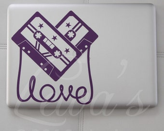 Love Like Music Laptop / Notebook / Macbook Computer Decal