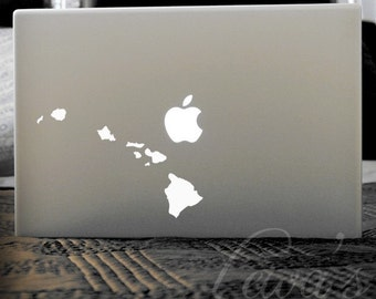 Hawaii Laptop Decal - Small