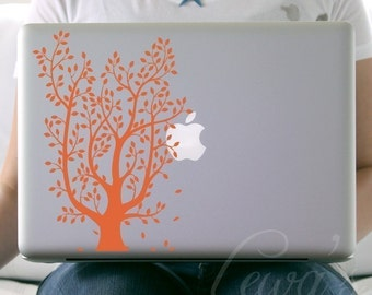Leafy Tree Laptop / Notebook / Macbook Computer Decal