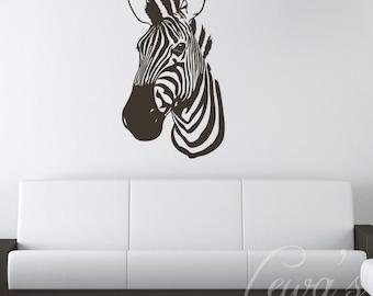 Zebra Wall Decal XL