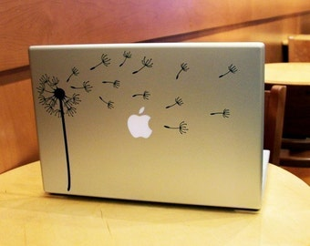 Dandelion Blowing in the Wind Laptop / Notebook Computer Decal