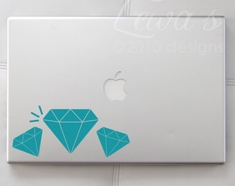 Diamonds Are Forever Laptop / Macbook / Notebook Computer Decal
